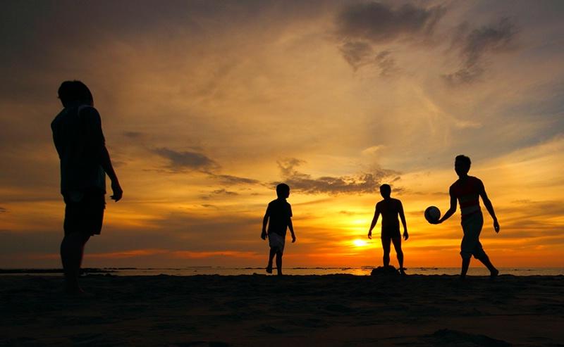 Ngwe Saung Sun Set...