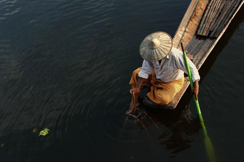 fisherman of Inlay Lake