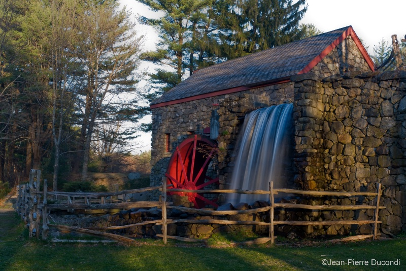 Sunset at the Grist Mill, MA