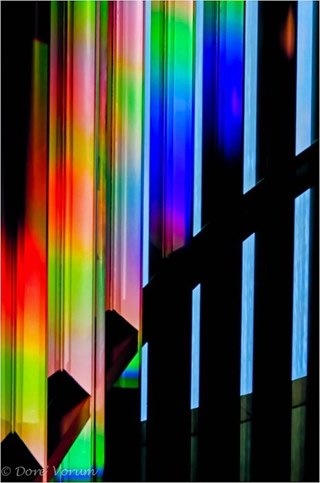 Staircase of color