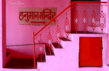 Stairs to the temple.