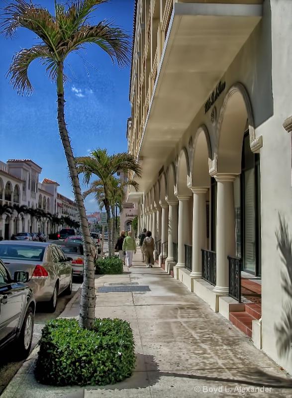 Worth Avenue in Palm Beach