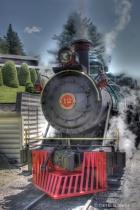 Engine #12 at Tweetsie Railroad