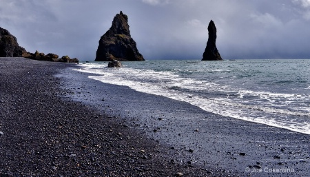 Iceland BlackSand Beach