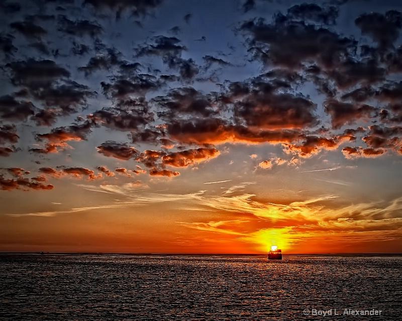 Sailing into the Setting Sun