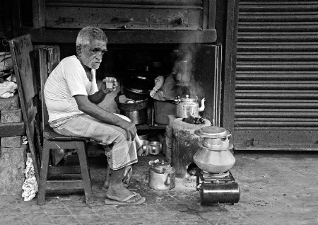 Roadside Tea Stall