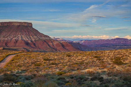 Road to Utah Mesa