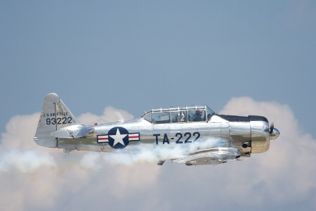Bill Leff's 1943 North American T-6G Texan