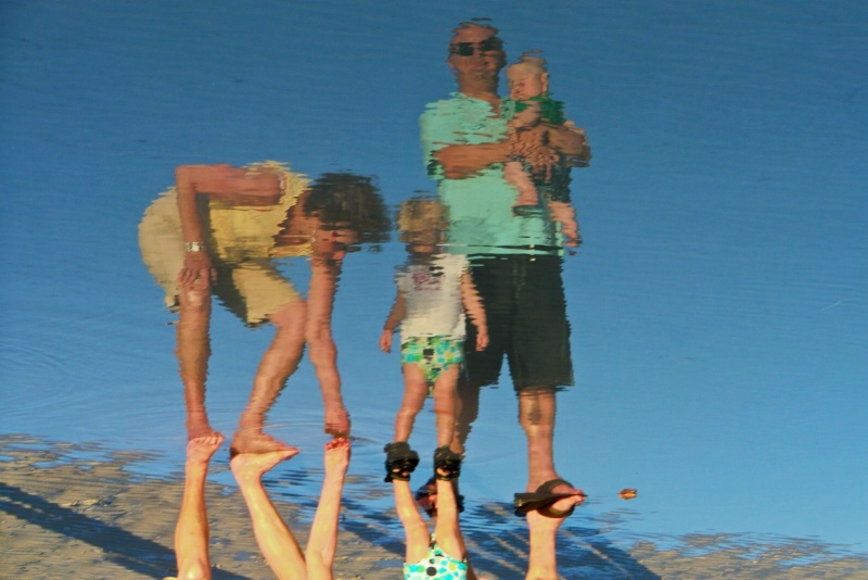 Reflections of a Beach Party