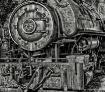 Steam locomotive...