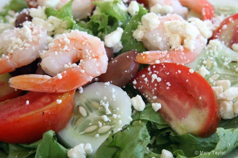 Shrimp Salad - ID: 13034566 © Mary E. Taylor