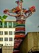 Tree made of fabr...