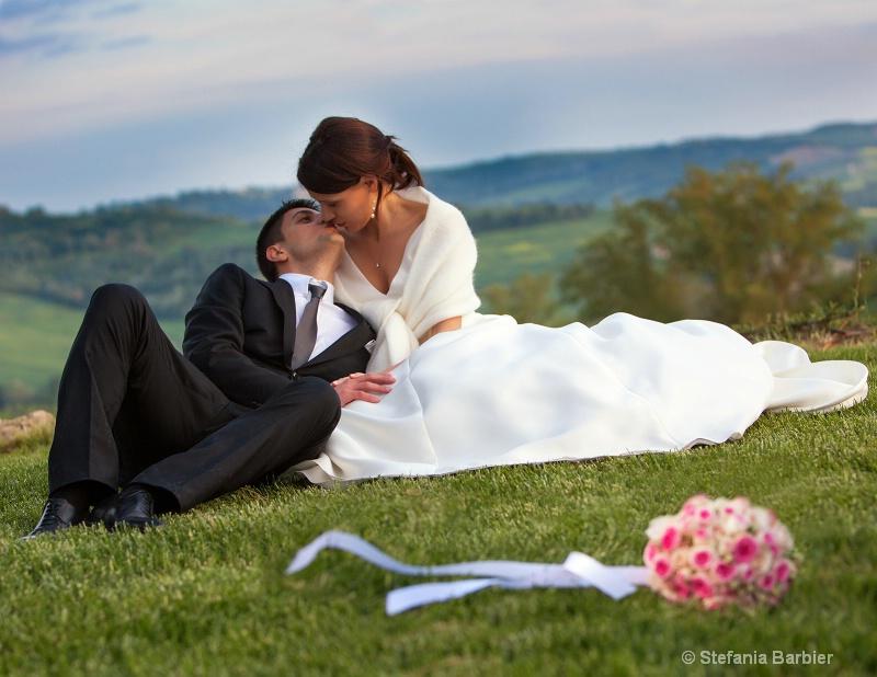 just married - ID: 13046172 © Stefania Barbier