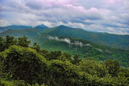 Blue Ridge on a Blue Day
