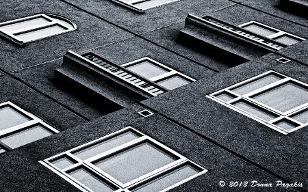 Window Panes & Stucco