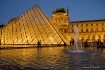 Pyramid, Louvre, ...