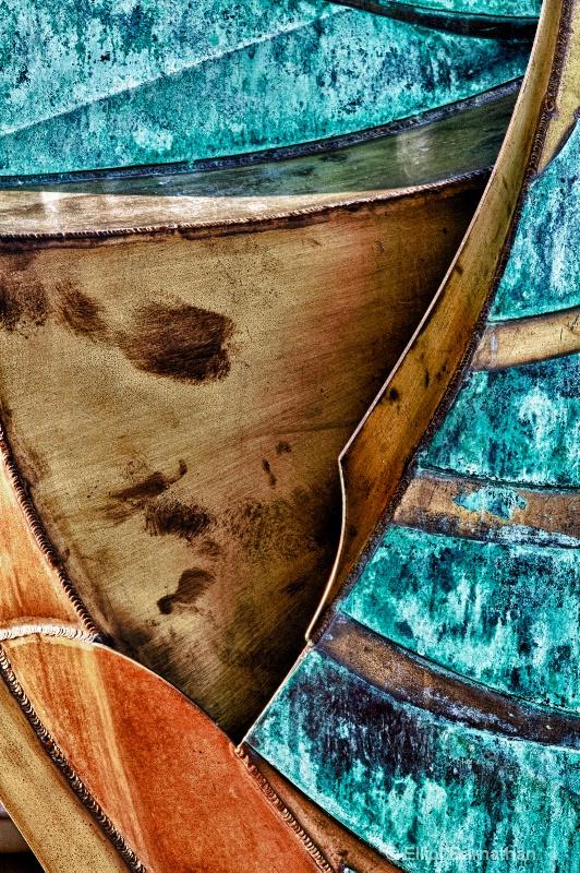 Metal Abstraction - ID: 13089279 © Elliot S. Barnathan