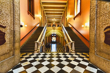 Statehouse Stairs