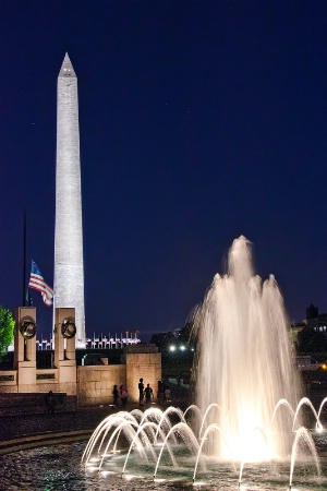 Washington Monument & WWII