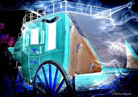 U.S. Mail (Stagecoach or digital)