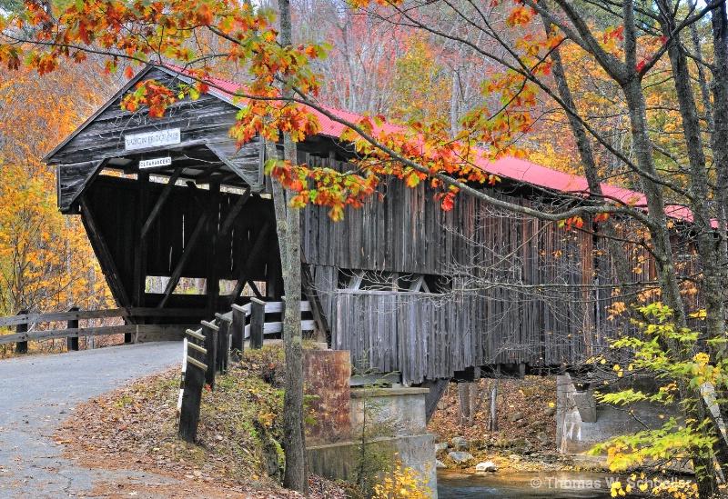"""""""Durgin Covered Bridge""""  New Hampshire"""