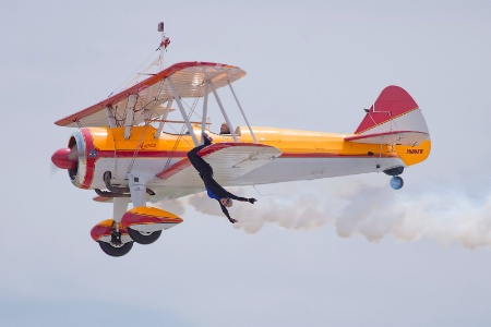 "Wing Walker Jane Wicker on ""Aurora"""