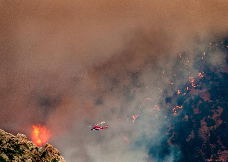 Waldo Canyon Fire; Colorado Springs, CO
