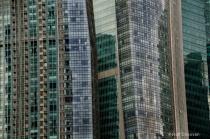 Merged skyscrapers