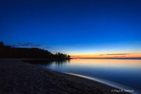 Twilight at Whetmore Landing