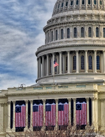 The U.S. Capitol celebrates...