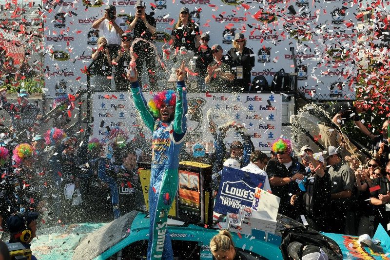 Jimmy Johnson Wins at Dover