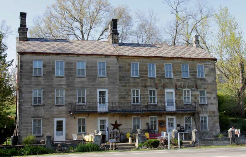 11. headley inn  1833-35  five miles west of zanes - ID: 13129610 © Donald E. Chamberlain
