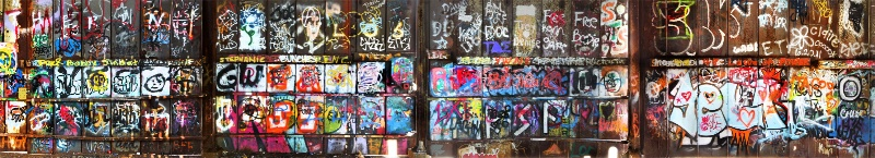 Urban Graffiti, Center Panel - ID: 13131671 © Kenneth A. Wilson