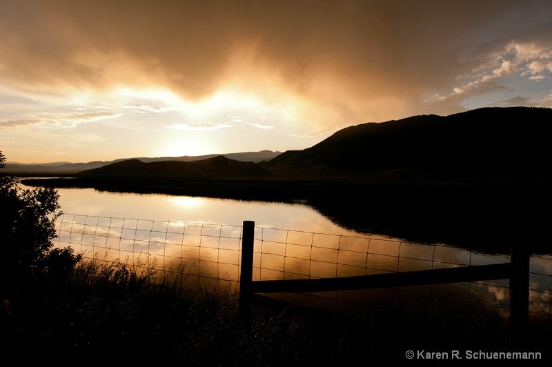 Sunrise at the Elk Refuge