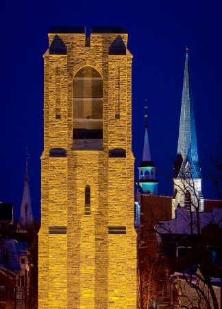 Carillon and Spires, Frederick, Maryland