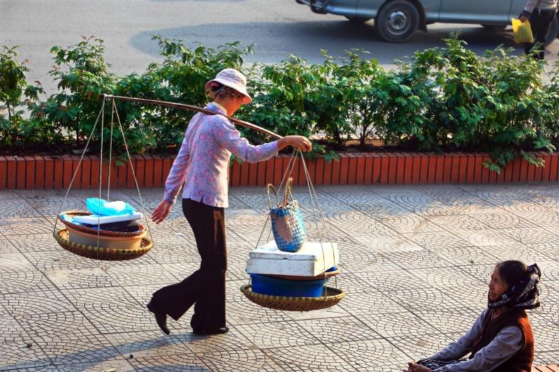 Style of Vietnam lady