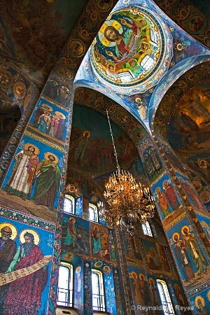Interior ~ Church of Our Saviour on Spilled Blood