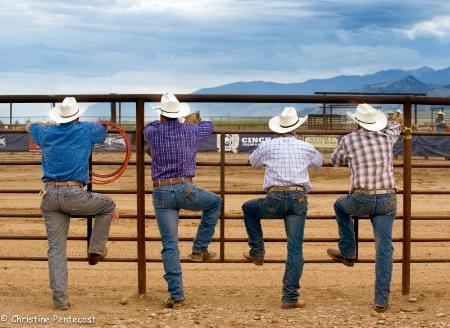 Cowboy's steppin' up