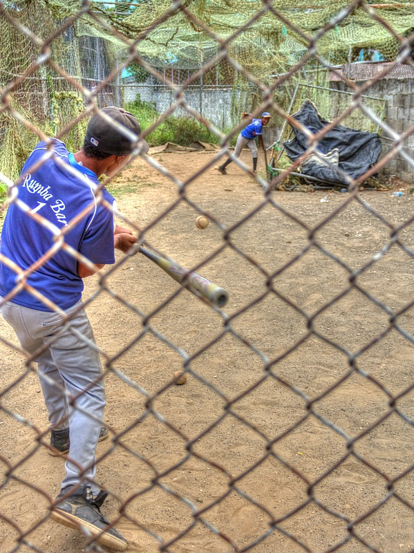 In The Batting Cage