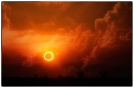 Ring of Fire - Solar eclipse 5/12