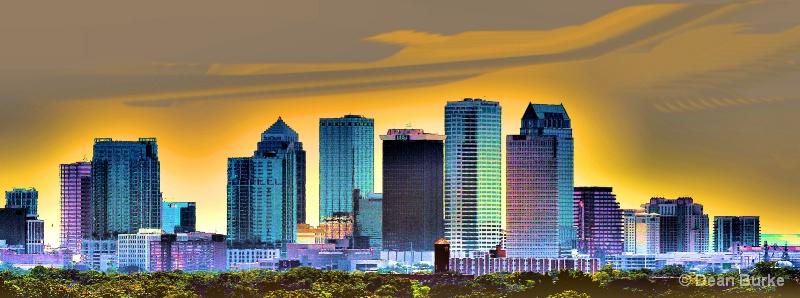 Tampa Sky Line - ID: 13155094 © Dean Burke