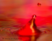 M 5 RED WATER DROPS 2