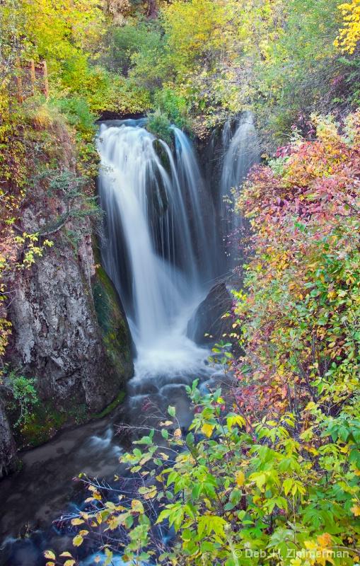 Roughlock in Autumn color 2 - ID: 13166702 © Deborah H. Zimmerman