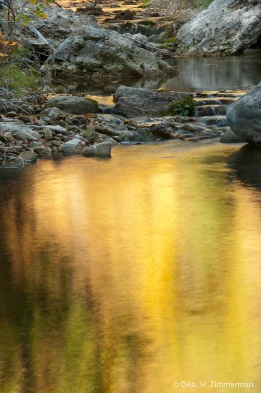 Still Gold in Boulder Creek - ID: 13167459 © Deborah H. Zimmerman