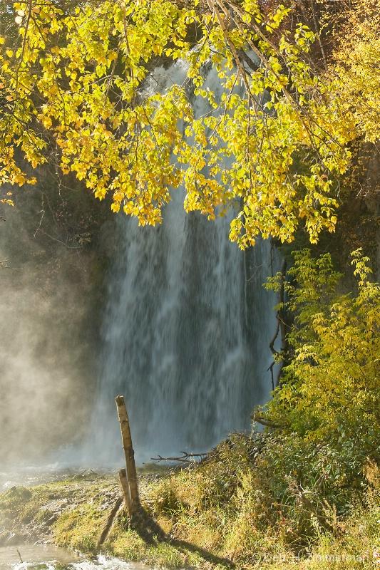 lil Spearfish Falls in Autumn  - ID: 13167482 © Deborah H. Zimmerman