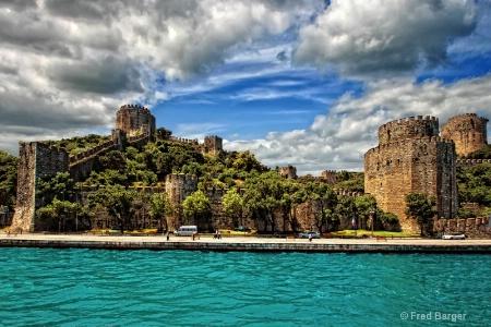 Castle on the Bosphorus, Istanbul, Turkey