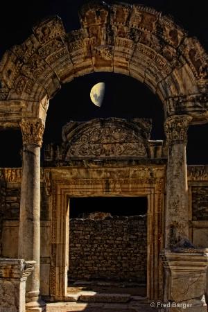 Moon Glow, Ephasis, Turkey