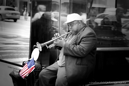 NYC Street Musician