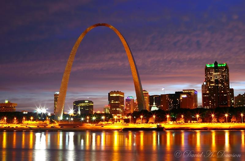 St. Louis Afterglow