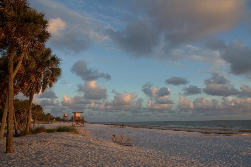 Twilight at the Gulf Coast